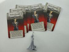 Zombicide Black Plague. necromancer Queen Medea + cards (Kickstarter exclusive)