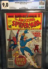 Amazing Spider-Man Annual #22 9.0 cgc Rare Newsstand Edition..!!