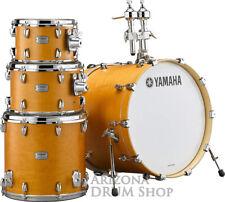"Yamaha Tour Custom Maple 4pc Drum Set Shell Pack , Caramel Satin w/20"" Bass New!"