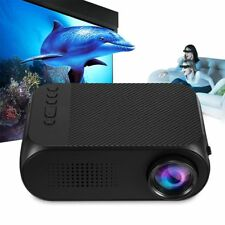 2018 Mini YG320 Cine en casa AV / HDMI Soporta Proyector de tarjeta TF Ench R3U5