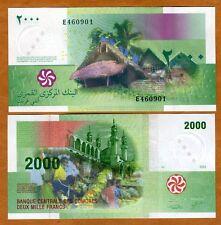 Comoros, Comores 2000 Francs, 2005, P-17, UNC