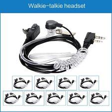 10pcs/lot Headset Earphone Earpiece For Baofeng UV5R 5RE+ UV82 888S 8DR Air Tube