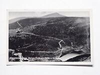 Ansichtskarte Riesengebirge, Kleiner Teich mit Teich- und Hampelbaude, um 1938