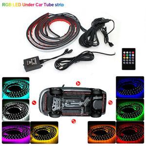 RGB LED Unterbodenbeleuchtung Auto Underglow Körper Neon Licht Atmosphäre Lampe