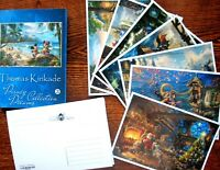 NEW! LOT 20 postcards Fairy-tale DISNEY 3 cartoon Thomas Kinkade postcard modern