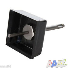 Silverline SDS TCT Masonry Square Box Hole Cutter Electrical Boxes Sinker