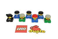 ~~LEGO DUPLO VINTAGE FIGURES CHARACTERS BUNDLE X7