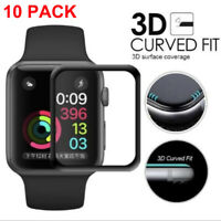 Wholesale lot 3D Tempered Glass Screen Protector For iWatch Apple Watch 4/3/2/1