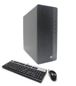 HP 800 G4 Workstation 6-Core i7-8700 3.2GHz 16GB Ram 1TB SSD 2TB AMD R7 430 2GB