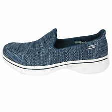 Skechers GOwalk 4 Women's Shoes Available in Navy Size 7 Lightweight & Athletic