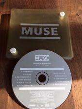 MUSE Origin Of Symmetry Rare 11-track promo CD Perspex Box sehr selten
