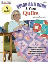 Quick As A Wink 3 Yard Quilts by Donna Robertson for Fabric Cafe