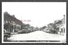 New Richmond rppc South Main Ave Shops Cars Wisconsin 50s
