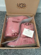 BNWB Botas Ugg Australia Classic Cardy Tejido Size UK 4.5