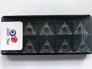 TCMT 16T304 CARBIDE TURNING INSERTS (Read Description For My Quality Guarantee)
