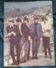 1965 Rolling Stones Uk Concert program Tour Book Latest Single The Last Time