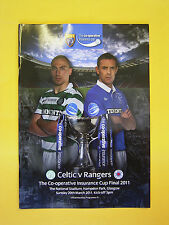 The Co-operative Insurance League Cup Final - Celtic v Rangers - 20th March 2011