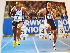 Maurice Green signed 8x10 photo US Olympics autographed runner a