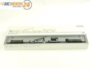 E261 Märklin H0 4897 Güterwagen-Set 4-tlg. Torf-Transport K.Bay.Sts.B. / NEM