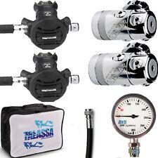 RO1 DIR kit Erogatore Apeks XTX50 manometro e fruste