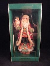 Fitz and Floyd Christmas Lodge Bell Collector's Series Limited Edition Nib