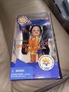 Kelly Club Snowboarder Belinda Doll Olympic Winter Games 2002 Mattel 1997 NRFB
