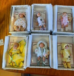 Ashton Drake  Collection  Miniature Dolls 6 dolls some rare with certificate