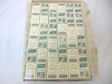 1Q HUGE Lot Of Vintage FLAGSHIP Resturant Matchbox Books Washington DC 1940's !