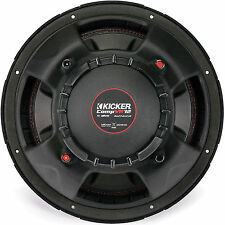 Kicker CompVR 12 Inch Subwoofer with Dual 4 Ohm Voice Coils | 43CVR124