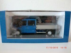 1:43 Doka Doppelkabine Ford Transit Pritschenwagen Paul`s Model Art