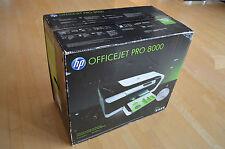 Brand New HP Officejet Pro 8000 Network Color Inkjet Printer Auto-Duplex 35ppm