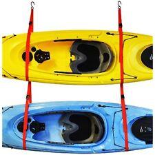 Malone Auto Indoor Kayak Storage Racks SlingTwo Double Kayak Storage System