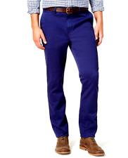 Club Room Men's Slim-Fit Stretch Chinos, Blue Depths, 32W x 30L