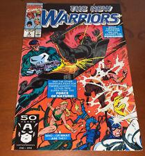 The New Warriors #8 (Marvel Comics)