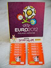 Panini Euro 2012: Leeralbum international + 10x Coca Cola-Tüten, top !!!