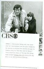 CHRISTOPHER GEORGE JUDY CARNE DEAD MEN TELL NO TALES ORIGINAL 1971 CBS TV PHOTO