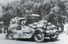 """12 By 18"""" Black & White Picture Ford 1928-1929 Roadster loaded with watermelons"""