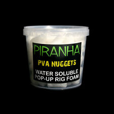 Piranha Pva Nuggets 1 litre baignoire water soluble pop up mousse rig gain l'avantage