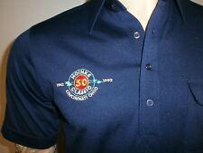 vtg HOINKE CLASSIC POLO SHIRT Bowling Tournament Cincinnati 1942 1992 50th MED