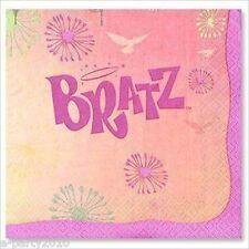 BRATZ Fashion Pixiez LARGE NAPKINS (16) ~ Birthday Party Supplies Dinner Lunch