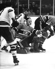 Montreal Canadiens Goalie JACQUES PLANTE Glossy 8x10 Hockey Photo Glossy Print
