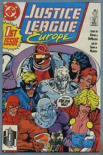 Justice League Europe #1 1989 Bart Sears DC Comics B