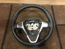 Ford Fiesta MK8 Leather Steering Wheel 2008 - 2015 Chrome