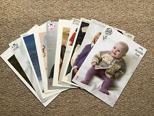 Bundle/Job Lot Of Knitting Patterns