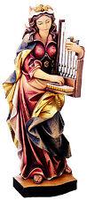 Hl. Cäcilia, S. Cecilia, St. Cecilia wood, holzfigur, Neu