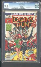 LOGANS RUN 1 CGC 9.8 1/77 MOVIE ADAPTATION PART 1OF 5 WHITE PAGES