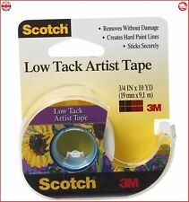 Multicoloured Other 3M Scotch Artist Tape for Canvas.75-inch x 10yd 4.54 x x
