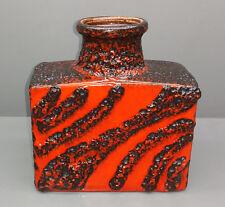 Scheurich Lava Ceramics Vase 281-19 the 60er