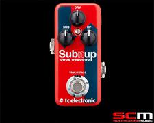 TC Electronic Sub n Up Mini Octaver Mini Effect Pedal Electric Guitar FX