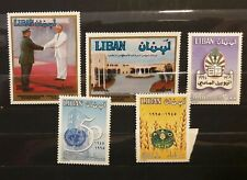Lebanon selection of early stamps high values MNH